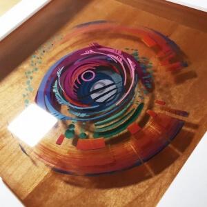 ۸ گام برای اجرای نقاشی سه بعدی با رزین اپوکسی