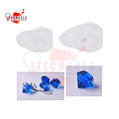 قالب سیلیکونی رزین طرح الماس