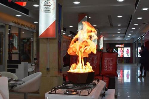 رونمایی از پتوی اطفا حریق پرواک در نمایشگاه ایمنی و تجهیزات آتش نشانی