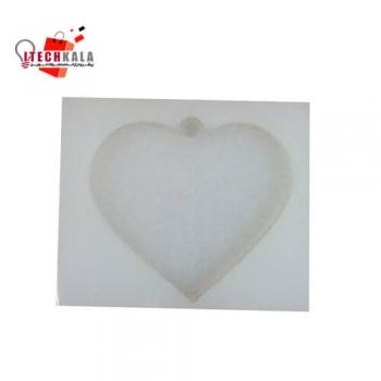 قالب سیلیکونی مخصوص رزین طرح قلب